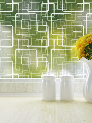 retro squares window film by odhams press