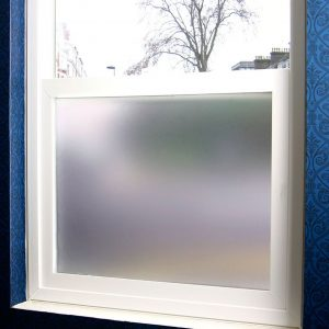 plain frosted privacy window film