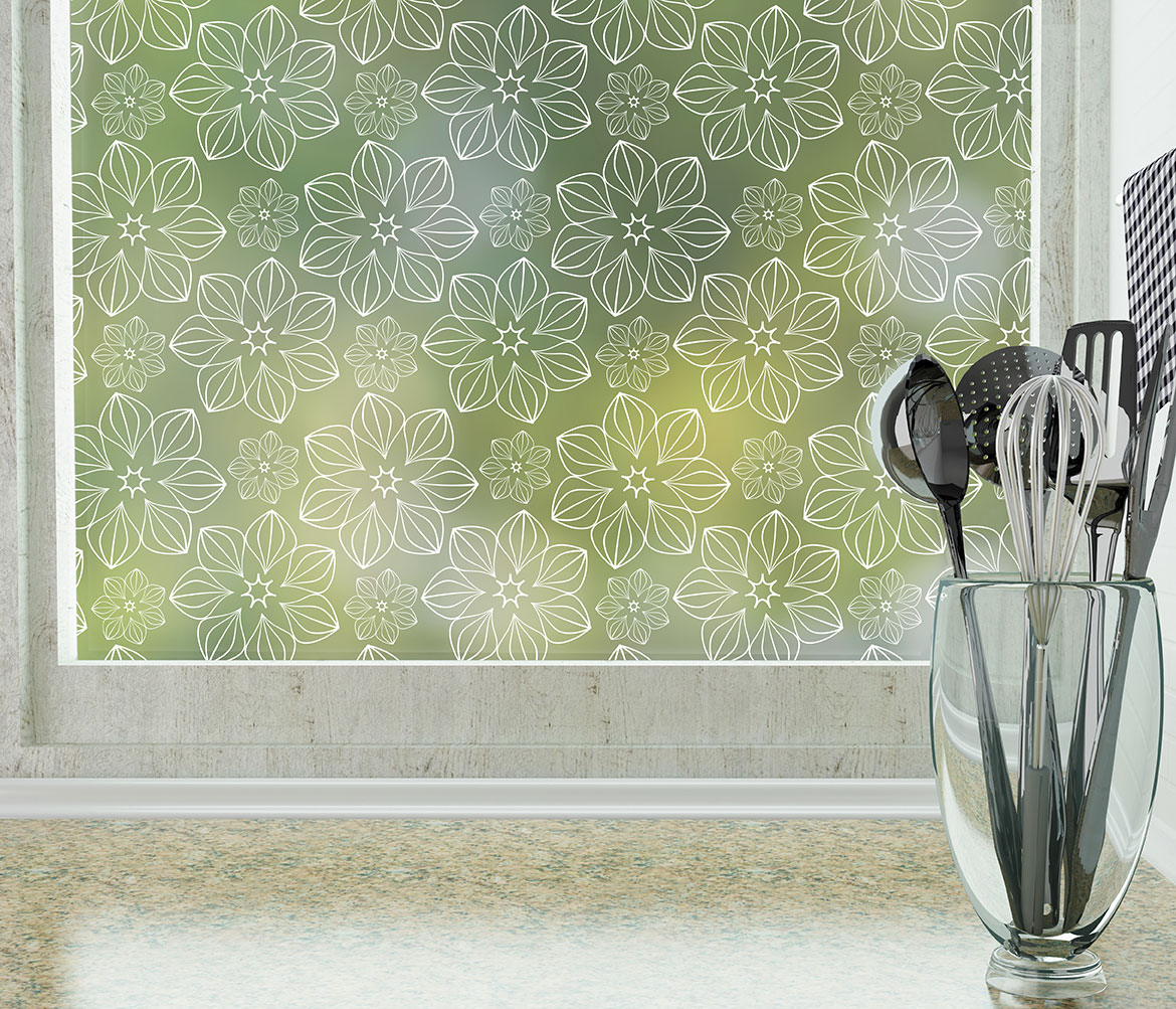 Blossom Patterned Window Film