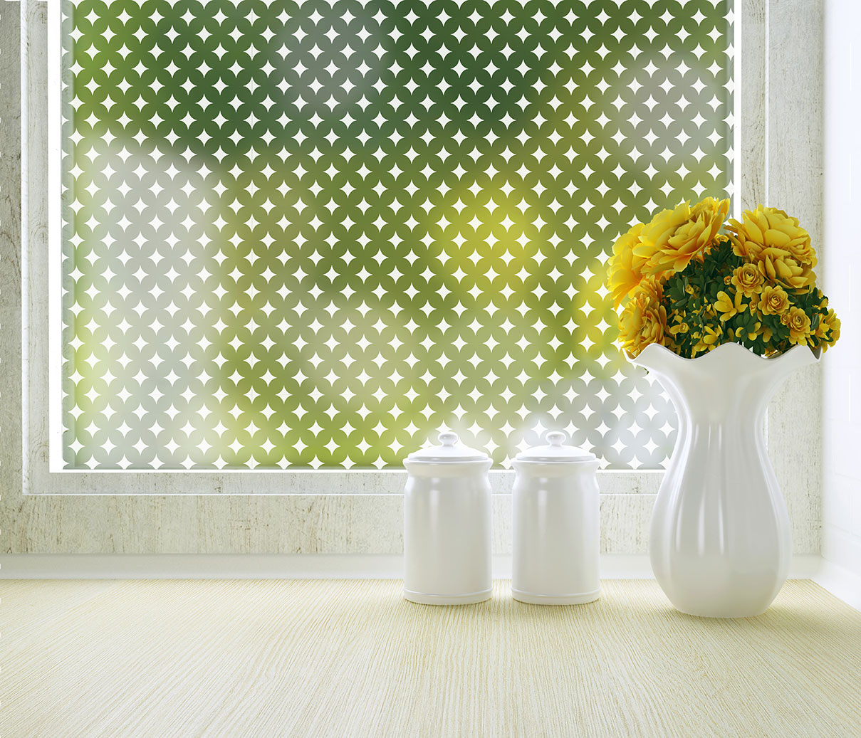 Diamonds Privacy Film