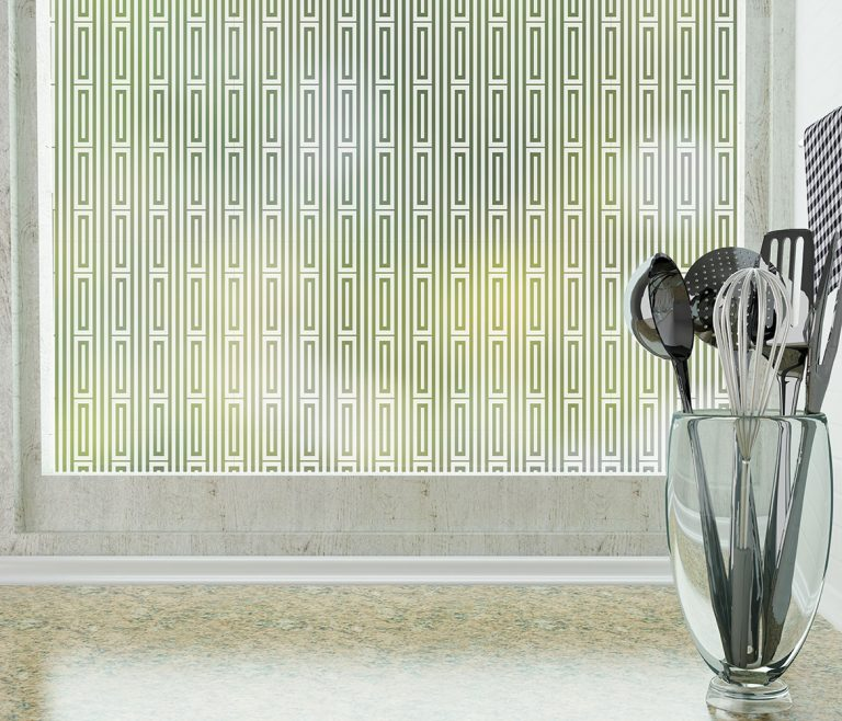 Roman Adhesive Frosted Privacy Window Film by odhams press