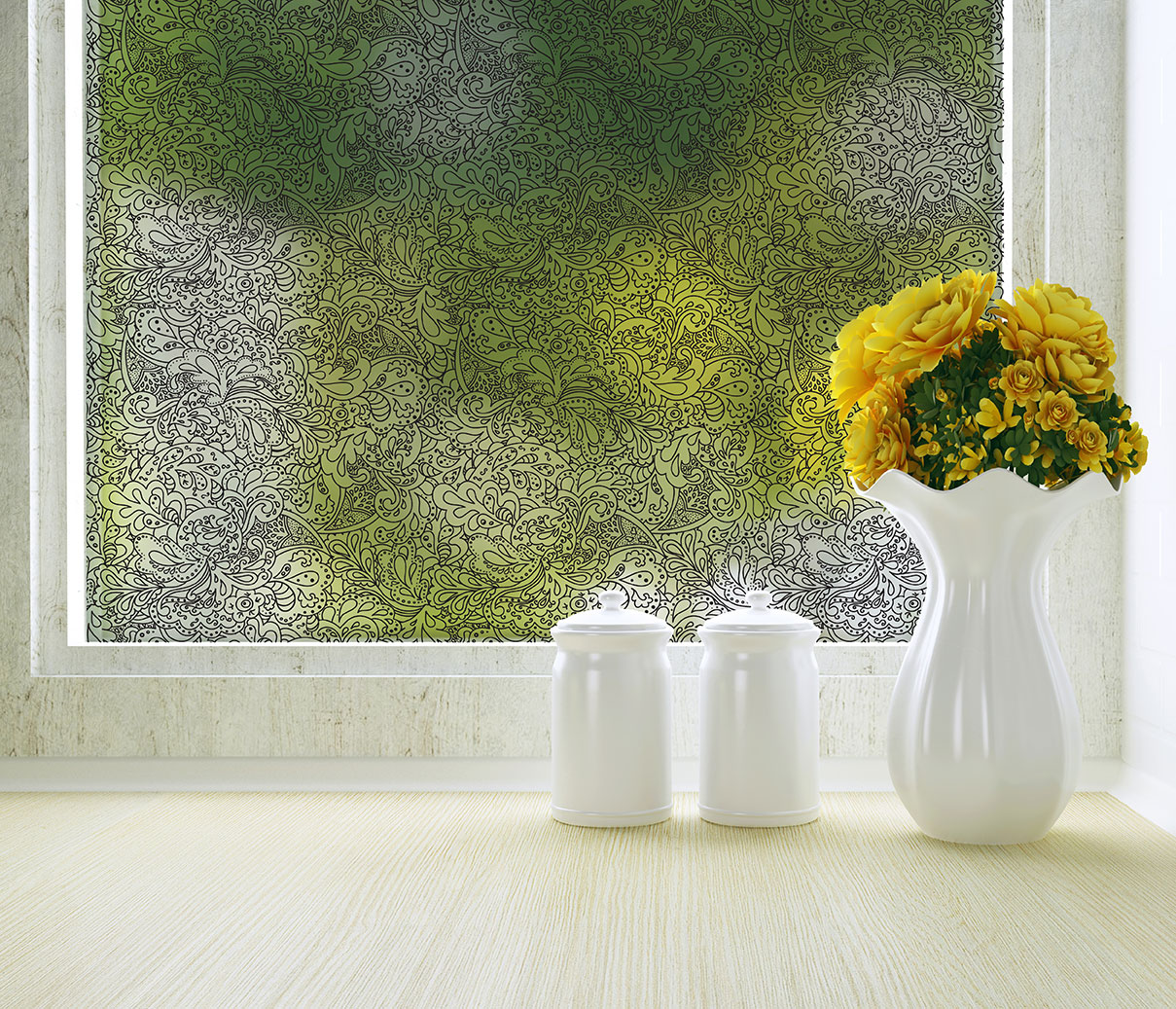 Adhesive Window Film Mirror Reflective Commercial Window