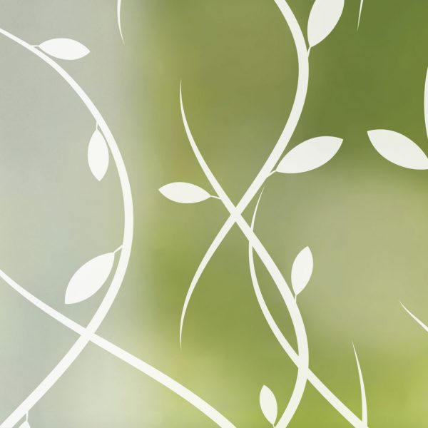 vines cling privacy window film