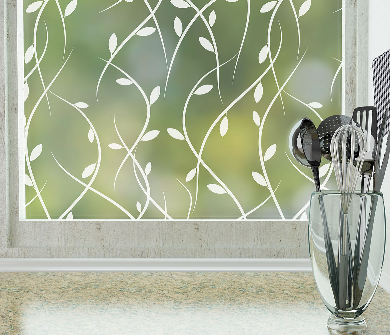 Vines Modern Window Film Decorative Film For